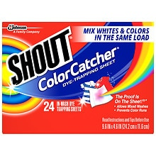 Shout Color Catcher In-Wash Sheets