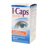 ICaps Eye Vitamin & Mineral Supplement Tablets