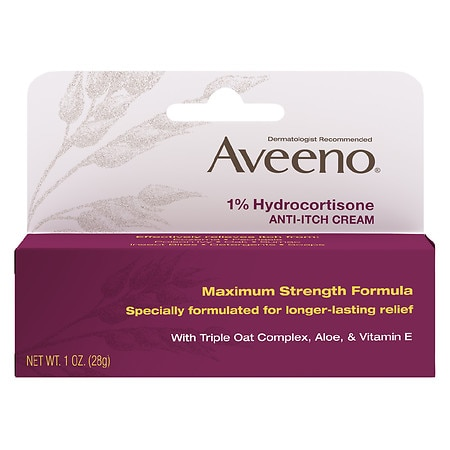 Aveeno Active Naturals 1% Hydrocortisone Anti-Itch Cream