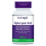 Natrol Alpha Lipoic Acid 300 mg Dietary Supplement Capsules