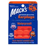 Mack's Soft Moldable Silicone Earplugs Kids Size