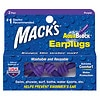 Mack's AquaBlock Earplugs, 2 Pairs Purple