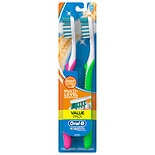 Oral-B Advantage Advantage Complete Deep Clean Soft Bristles Regular Head Toothbrush 2 Pack 40 Soft/Regular