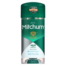 Mitchum Power Gel Antiperspirant & Deodorant Unscented