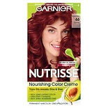 Garnier Nutrisse Level 3 Permanent Creme Haircolor True Red 66 (Pomegranate)