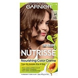 Garnier Nutrisse Level 3 Permanent Creme Haircolor Light Natural Brown 60 (Acorn)