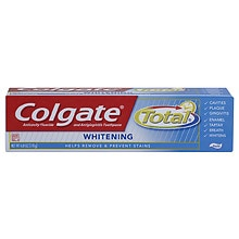 Colgate Total Anticavity Fluoride and Antigingivitis Toothpaste Whitening