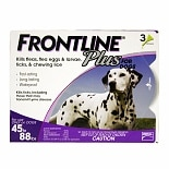 Frontline Plus Dogs 45-88 lbs.