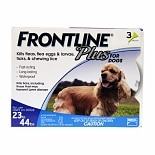 Frontline Plus Dogs 23-44 lbs.