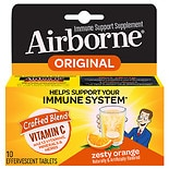 Airborne Effervescent Tablets Zesty Orange