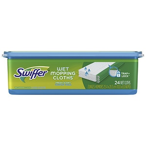300 Swiffer Sweeper Wet Mopping Cloths, Mop And Broom Floor Cleaner ...