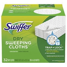 Swiffer Sweeper Dry Sweeping Cloths Unscented