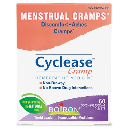 Boiron Cyclease Cramp, Menstrual Cramp Relief