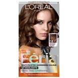 L'Oreal Paris Feria Multi-Faceted Shimmering Colour 3x Highlights, Permanent Brazilian Brown 51