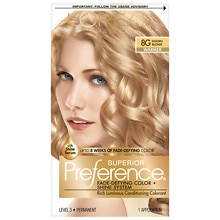 Permanent Hair Color, Golden Blonde 8G