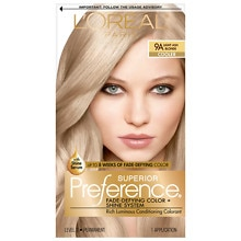 L'Oreal Paris Preference Permanent Hair Color Light Ash Blonde 9A