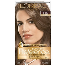 Permanent Hair Color, Light Brown 6