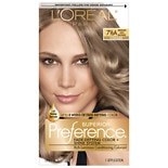 L'Oreal Superior Preference Permanent Hair Color Medium Ash Blonde 7 1/2A