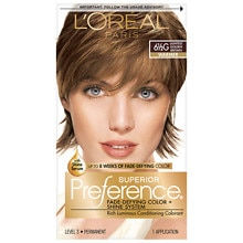 Permanent Hair Color, Lightest Golden Brown 6 1/2G