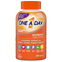 One A Day Women's Multivitamin/Multimineral Supplement Tablets