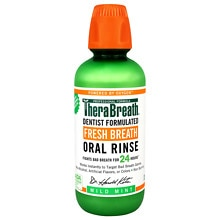 TheraBreath Fresh Breath Oral Rinse Mild Flavor