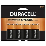 Duracell Coppertop Alkaline Batteries9v