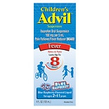 Children's Advil Ibuprofen Oral Suspension Blue Raspberry