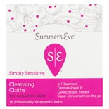 Summer's Eve Feminine Cleansing Cloths for Sensitive Skin