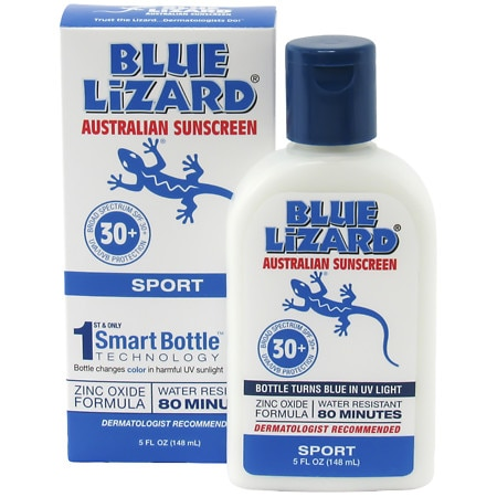 Blue Lizard Australian Sunscreen, Sport, SPF 30+