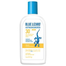Blue Lizard Australian Sunscreen, Daily Moisturizer Face, SPF 30+