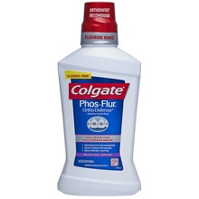 Colgate Phos-Flur Anti-Cavity Fluoride Rinse Gushing Grape