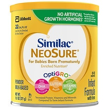 Similac Expert Care NeoSure, Infant Formula with Iron, Powder