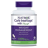 Natrol Carb Intercept with Phase 2 White Kidney Bean Extract Dietary Supplement
