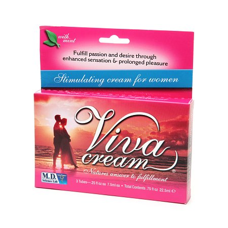 Viva Stimulating Cream for Women 3 Pack