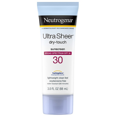 Neutrogena Ultra Sheer Dry-Touch Sunscreen for Body, SPF 30