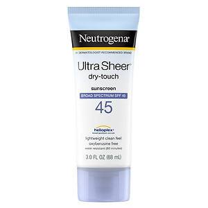 Neutrogena Ultra Sheer Dry-Touch Sunblock, SPF 45