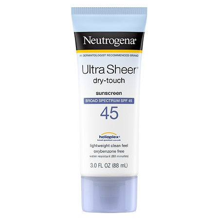 Neutrogena Ultra Sheer Dry-Touch Sunscreen, SPF 45