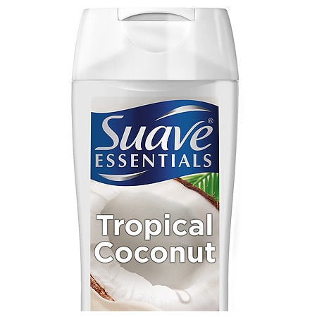 Suave Naturals Body Wash Creamy Tropical Coconut