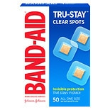 Band-Aid Clear Spots Adhesive Bandages All One Size
