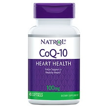 CoQ-10 100mg Softgels