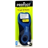 Profoot Care Triad Men's Orthotic Insoles 8-13