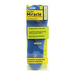 The 2 oz. Miracle Men Custom Molding Insoles Men's Sizes 8-13