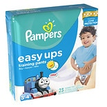 Pampers Easy Ups Easy Ups Boys, Jumbo Pack 3T-4T (Size 5)
