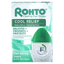 Rohto Cool Redness Relief Lubricant Eye Drops