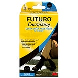 FUTURO Energizing Sheer Knee Highs for Women Mild Medium Black