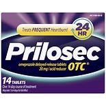 Prilosec OTC Acid Reducer Delayed-Release Tablets, 14 ea
