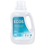 Earth Friendly Products Ecos 2X Ultra Free and Clear All Natural Liquid Laundry Detergent HE