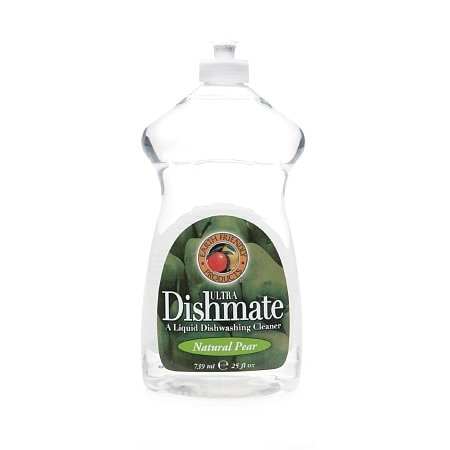 Earth Friendly Products Ultra Dishmate, Liquid Dishwashing Cleaner Natural Pear