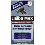 Male Enhancement Dietary Supplement Liquid Soft-Gels