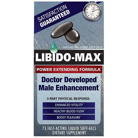 Applied Nutrition Male Enhancement Dietary Supplement Liquid Soft-Gels